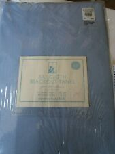 1 Pottery Barn Kids Sailcloth  Blackout blue Drape 44 X 63 New in package