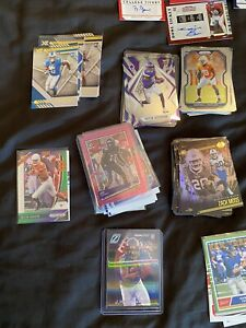 120 + Nfl Rookie Cards Inc Jefferson Burrow 7 Collegiate Autos And Many More
