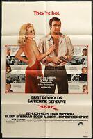 Hustle (1975) - original movie poster - Burt Reynolds - Eddie Albert