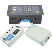 12V LED Automation Delay Dual Display Timer Control Switch Relay Case Module