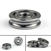U604ZZ Bearing U Groove Guide Pulley Rail Bearing 4x13x4mm For 3D Printer