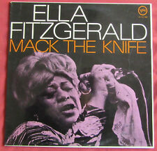 ELLA FITZGERALD   LP ORIG FR MACK THE KNIFE