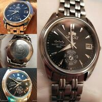 Vintage Orient Watch Diver Japan Automatic Watches Working Cal Rare Dial S Resis