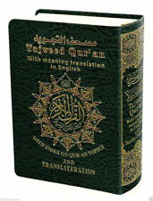 Tajweed Quran with English Translation and Transliteration Small (Pocket Size)