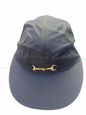 Impresionante Keswick Hat Company of VIRGINIA Algodón Encerado Gorra Sombrero Negro Talla Única