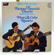 1982 Pepe & Celin Romero Famous Spanish Dances Philips 6514 182 Stereo Mint LP