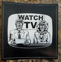 """Political Bumper Sticker """"THEY LIVE"""" Movie 🎥 WATCH TV 📺 OBEY SHEEPLE HOAX"""