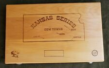 Colt Kansas series cow towns frontier scout factory wood display carry case