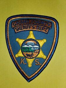 Grant County Kansas Sheriff's Dept Patch