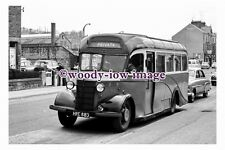 gw0030 - Private Coach Bus HRE 883  at Matlock in 1961 - photograph 6x4
