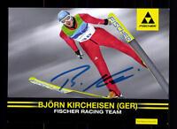Björn Kircheisen Autogrammkarte Original Signiert Nordische Kombination+A 125018