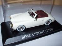 VA12F Voiture 1/43 IXO altaya SIMCA : Simca sport 1949
