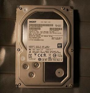 """HGST Deskstar 7K4000 4TB 7200RPM SATA III 3.5"""" HDD"""