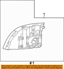 Mercury FORD OEM 02-05 Mountaineer-Headlight Assembly 5L9Z13008AA