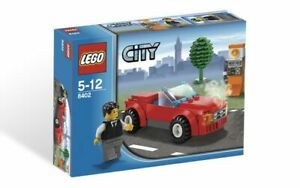 LEGO City Sports Car 8402 (2009) Pre-Owned