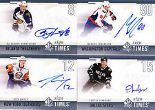 10-11 SP Authentic Marcus Johansson Auto Sign Of The Times Capitals 2010