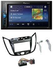 Pioneer 2DIN MP3 USB AUX Autoradio für Ford C-Max Kuga Klavierlack schwarz