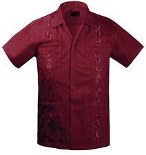 Guayabera Kids Toddler Junior Beach Wedding Baptism Button-Up Casual Dress Shirt