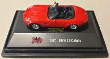 HO 1/87 Vehicle 1999 - 2003 BMW Z8 CABRIO Coupe Sports Car E52 Roadster RED NIB