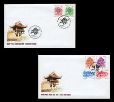 1014 Architecture, Landscape of Vietnam 2012 FDC (Ha Noi post mark)
