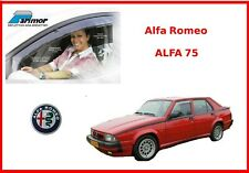 Deflettori aria per Alfa Romeo 75 kit Parimor originale set antiturbo antivento