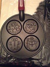 Nordic Ware Christmas Pancake Pan Griddle - Tree, Santa, Gingerbread, Snowman