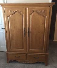 Ethan Allen Country French Video Cabinet, Excellent