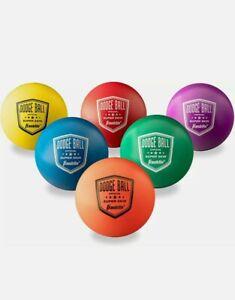 Franklin Sports Dodgeball Ball Set – Superskin-Coated Foam Balls For Playground