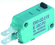Microschalter Taster Umschalter 250V/10A gefedert Einschalter Ausschalter