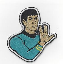 STARTREK MR SPOCK IRON PATCH BUY 2 GET 1 FREE = 3 OF THESE