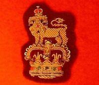 Staff Officers Beret Badge Colonel Brigadier Maroon