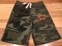 Gap Boys Medium (8-9) Camouflage Sweatpant Shorts. Nwt