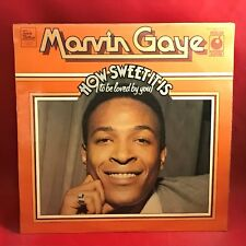 MARVIN GAYE  How Sweet It Is To Be Loved By You UK Vinyl LP EXCELLENT CONDITION