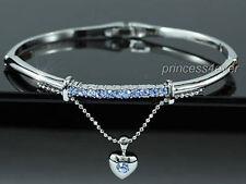 Crystal Love & Hearts Bangle Costume Bracelets
