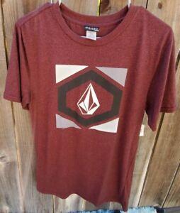 Volcom Big Youth XL Red Graphic T Shirt Short Sleeve