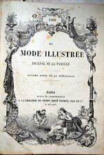 La mode illustrée, journal de famille, 1869