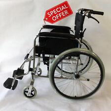 Aluminium Wheelchair - Lightweight, Self Propelled & Folding