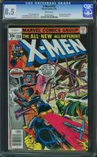 X MEN # 110 US Marvel 1978 John Byrne type CGC 8.5 VFN +
