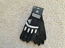 NEW Adidas SCORCH DESTROY football lineman gloves men 3XL XXXL Black
