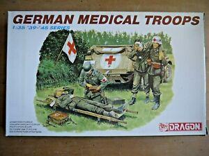 GERMAN MEDICAL TROOPS 1/35 DRAGON