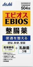 ☀ Asahi Ebios Probiotiques Bière Levure + Acide Lactique Bacterium 504 Comprimés