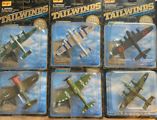 New Listing6 Plane Lot🌟 1999 Metal Maisto Tailwinds Die-Cast Aircraft 🌟See Other Auctions