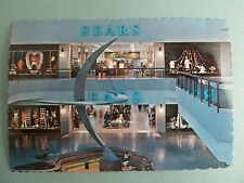 Sears Department Store Court Woodfield Mall SCHAUMBURG ILLINOIS Vintage Postcard
