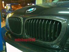 BMW E46 3 Series 4D Sedan Carbon Fiber Front Grilles