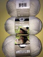 Yarn Loops & Thread  85 Acrylic 15 Nylon 100 Gr 678yd Woolike 3skein Beige