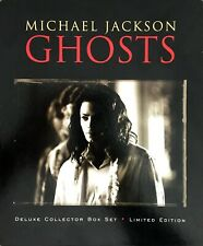 COFFRET BOX SET DELUXE COLLECTOR MICHAEL JACKSON GHOSTS LIMITED EDITION COMPLET