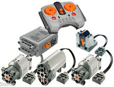 Lego Power Functions SET 5-S (technic,motor,receiver,remote,servo,large,box,car)
