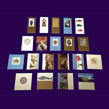 Assortment of 20 Luxury Blank Royal Collection Cards with Envelopes