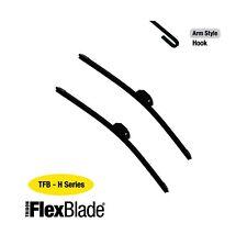 Tridon Flex Wiper Blades -fits  Subaru Sherpa 10/82-10/89 16/16in