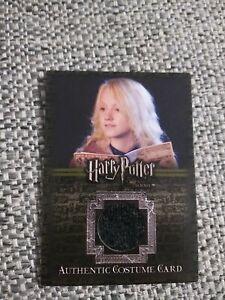Harry Potter Evanna Lynch Luna Lovegood - Screen Used Movie Film Costume Card
